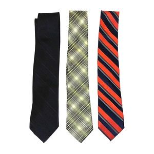 3 Calvin Klein ties